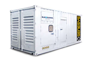 1100 KVA Containerised Diesel Generator 3 Phase 415V - Cummins or Perkins Powered