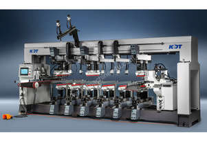 Programmable line borers for high volume production