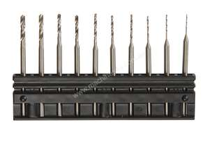 Carbatec 10 Piece Micro Drill Set