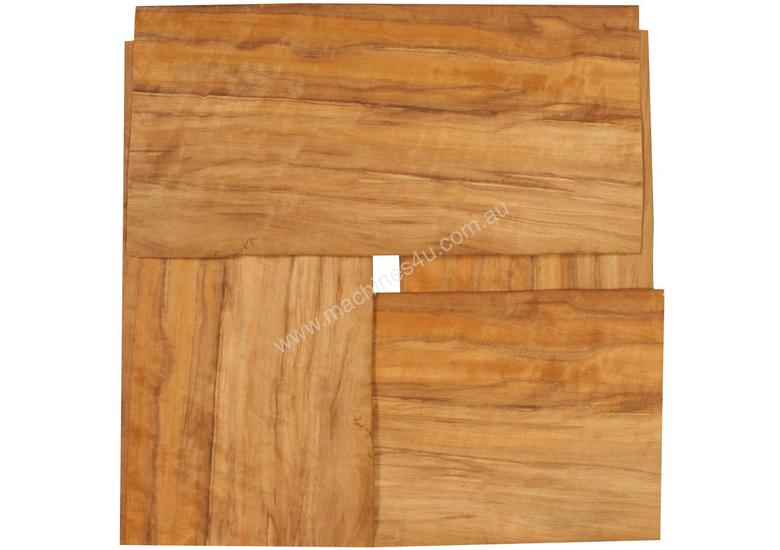 Four Piece Veneer Pack - Streaky Myrtle 400mm