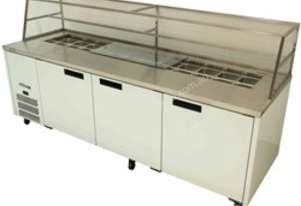 WILLIAMS Jade 3 Door Sandwich Preparation Counter with Canopy