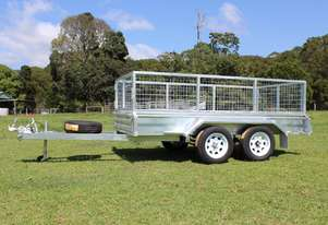2018 Ozzi 10x5 Galvanised Box Trailer