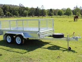 2018 Ozzi 10x5 Galvanised Box Trailer - picture0' - Click to enlarge
