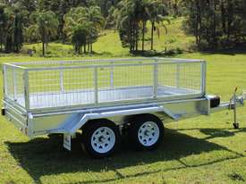 2018 Ozzi 10x5 Galvanised Box Trailer - picture2' - Click to enlarge