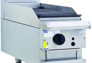 Luus CS-2B-B Benchtop Griddle Toaster with 2 Burner Professional Series