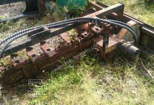 1200mm Hydrapower Skid Steer Trencher. EMUS NQ