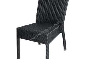 Bolero Wicker Side Chair (Dark Grey) (Pack 4)