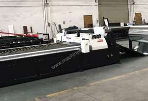 HVAC CNC Plasma With Decoiler & Programmable Feeder Straightener