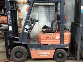 Toyota 5FG15 Forklift Container Entry Mast Great Value - picture0' - Click to enlarge