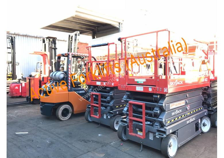 Toyota 5FG15 Forklift Container Entry Mast Great Value