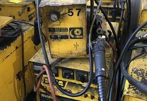 WIA MIG Welder Weldmatic Fabricator 320 amps 415 Volt with SWF Seperate Wire Feeder