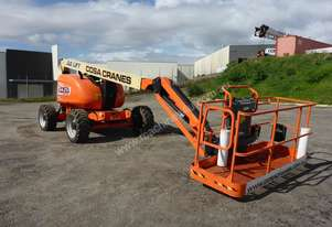2014 JLG Model 600AJ Articulating Diesel Boom Lift In Auction