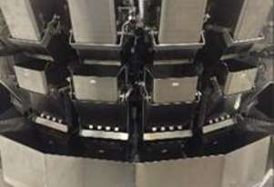 Multihead Weigher (set up for 4 mixed products) - 16 head