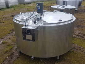 STAINLESS STEEL TANK, MILK VAT 1130 LT - picture0' - Click to enlarge