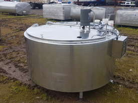 STAINLESS STEEL TANK, MILK VAT 1130 LT - picture1' - Click to enlarge