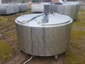 STAINLESS STEEL TANK, MILK VAT 1130 LT - picture2' - Click to enlarge