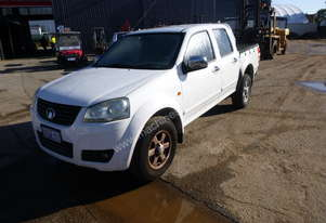 2011 Great Wall V240 (K2 Series) 4x2 Well Body Crew Cab Utility - In Auction