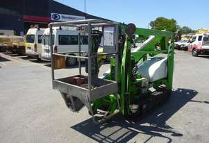 2006 Nifty TD 120 TDAC Rubber Tracked Spider Boom Lift