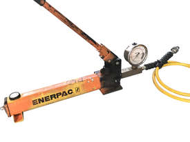 Enerpac Hydraulic Hand Pump Porta Power Manual Operation c/w Pressure Gauge - picture0' - Click to enlarge