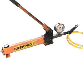 Enerpac Hydraulic Hand Pump Porta Power Manual Operation c/w Pressure Gauge - picture1' - Click to enlarge