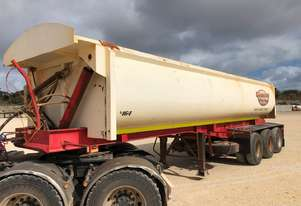2010 ACTION TRAILERS ACTT-TRI470 SIDE TIPPER