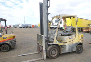 Hyster 2.5DX LPG / Petrol Counterbalance Forklift