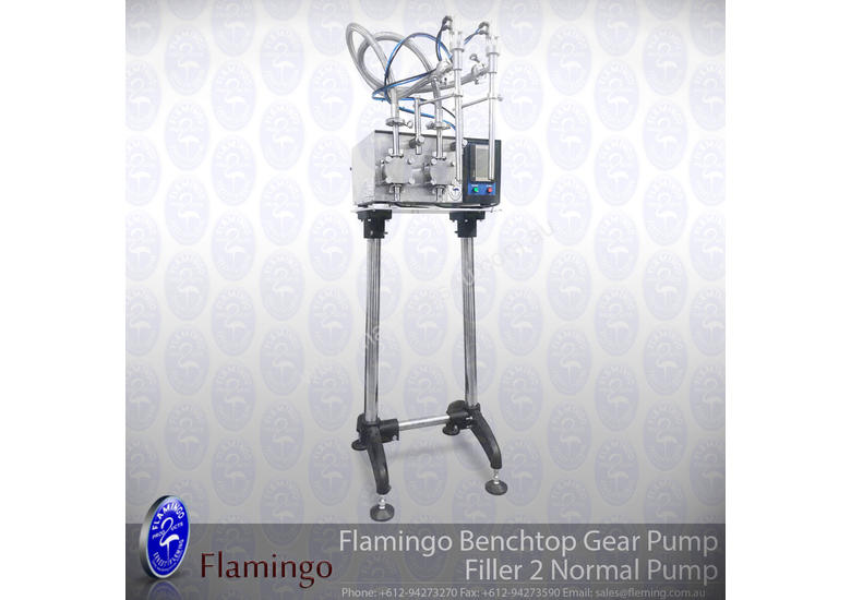 Flamingo Bench-top Gear Pump Filler 2 Pump (EFGP-B2)
