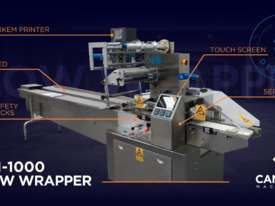 CPM 1000 Flow Wrapper (See Video) - picture5' - Click to enlarge