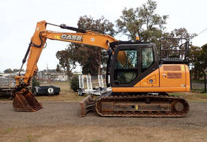 Case CX130 Tracked-Excav Excavator