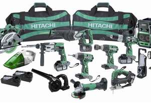 Hitachi Cordless Super Mega Pack (Cassette)