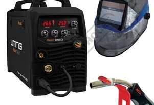 "RAZORâ""¢ 250 MTS Multi-Function Inverter Mig Welder Package Deal 30-250 Amps #KUMJRRW250MIG"