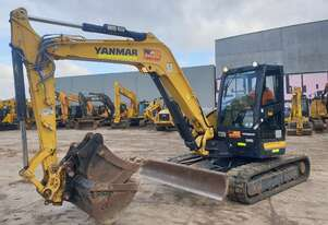 2018 YANMAR VIO80-1 EXCAVATOR WITH LOW 1200HRS