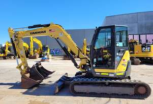2018 YANMAR VIO80-1 EXCAVATOR WITH LOW 1650HRS