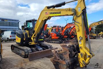 2018 YANMAR VIO80-1 EXCAVATOR WITH LOW 2040 HRS