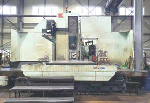 2002 Kuraki KBT-13 E.A table type CNC Horizontal Boring Machine