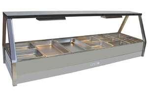 Roband E26RD Double Row Hot Food Display