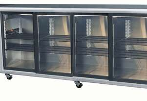 Skope BB780X 4 Glass Swing Door Fridge