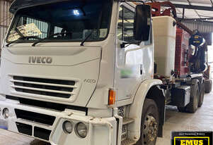 Vac Truck, Iveco with Ditch Witch FX65, low km's & hrs, E.M.U.S. TS597