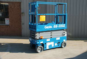 Genie GS1932 19FT Electric Scissor Lift Hire Orange and Central West NSW