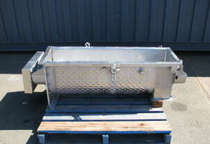 Jacketed Stainless Steel Ribbon Mixer - 140L