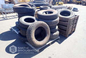 4 X PALLETS COMPRISING OF ASSORTED USED TYRES