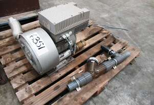 Side Channel Blower, In/Out: 50mm Dia