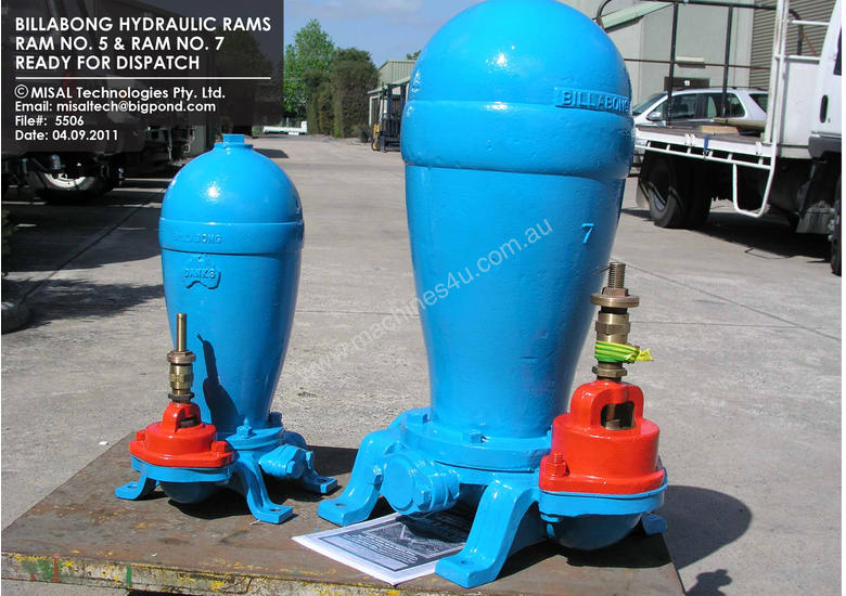 New 2013 billabong billabong hydraul water rams sale by for Hydraulic pumps and motors for sale