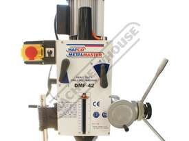DMF-42 Pedestal Mill Drill - Geared & Tilting Head (X) 370mm (Y) 175mm (Z) 780mm 31.5mm Drilling Cap - picture6' - Click to enlarge