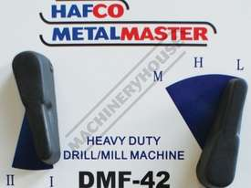 DMF-42 Pedestal Mill Drill - Geared & Tilting Head (X) 370mm (Y) 175mm (Z) 780mm 31.5mm Drilling Cap - picture3' - Click to enlarge