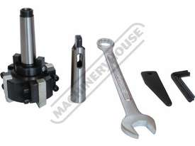 DMF-42 Pedestal Mill Drill - Geared & Tilting Head (X) 370mm (Y) 175mm (Z) 780mm 31.5mm Drilling Cap - picture17' - Click to enlarge