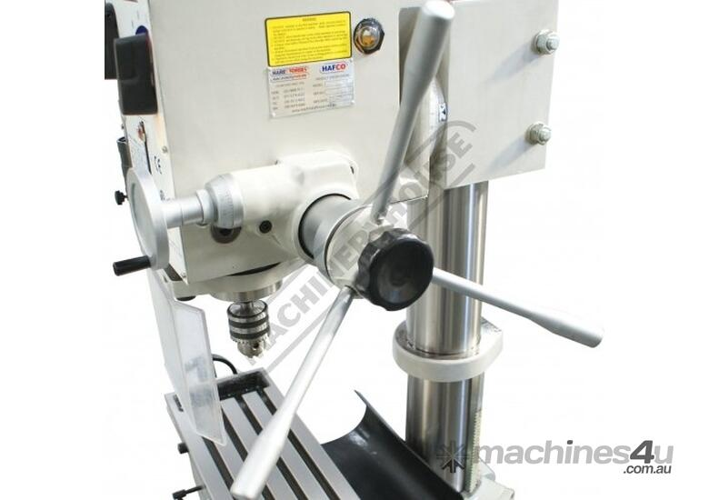 DMF-42 Pedestal Mill Drill - Geared & Tilting Head (X) 370mm (Y) 175mm (Z) 780mm 31.5mm Drilling Cap
