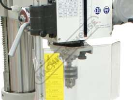 DMF-42 Pedestal Mill Drill - Geared & Tilting Head (X) 370mm (Y) 175mm (Z) 780mm 31.5mm Drilling Cap - picture4' - Click to enlarge