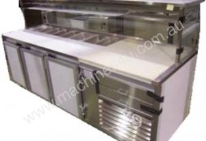 IFM Custom Built  Pizza Bar 2400mm long & 3 door c