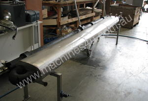Food Grade Stainless Heat Exchanger 3800 long